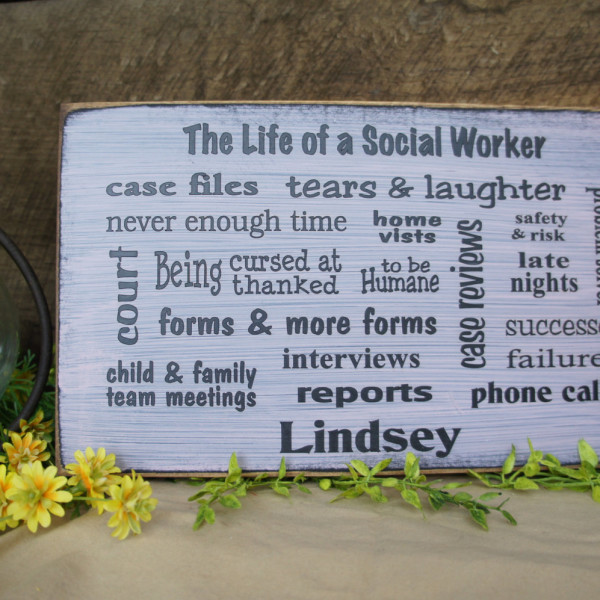 Black/LightPink Great Social Worker Gift Several Popular Phrases on this Sign BSW MSWBlack/LightPink Great Social Worker Gift Several Popular Phrases on this Sign BSW MSW