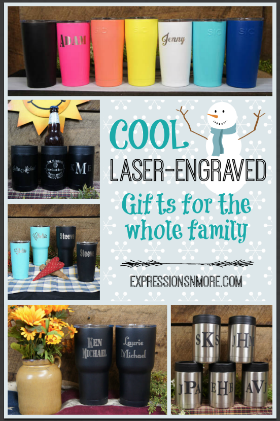 Cool Laser-Engraved Gifts for the Whole Family l ExpressionsNmore
