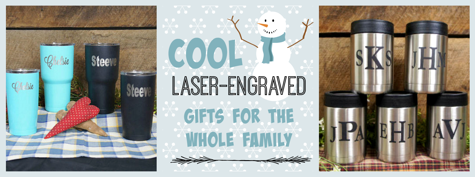 Cool Laser-Engraved Gifts For the Whole Family