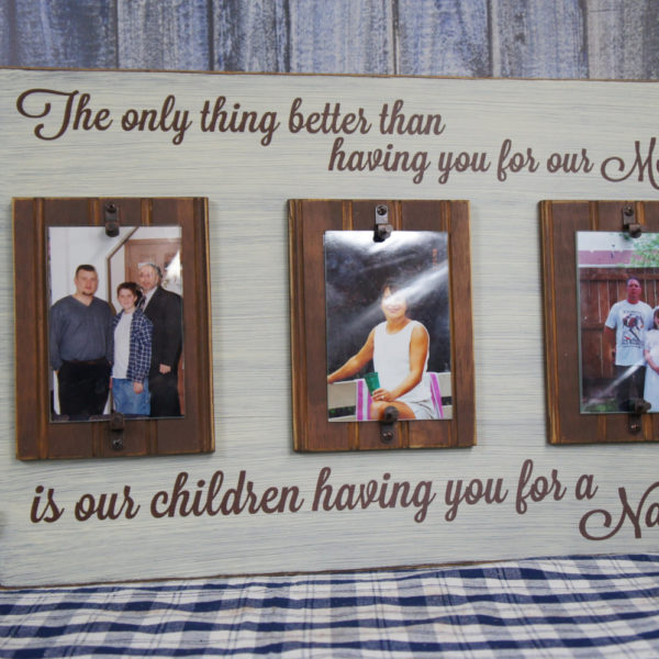 The only thing better than having you for Our Mom is our children ...