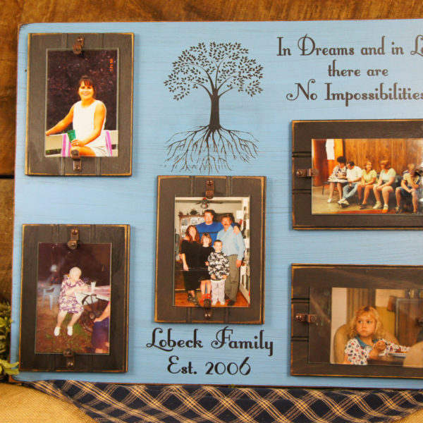 In Dreams And In Love Rustic Picture Frame Expressions N More