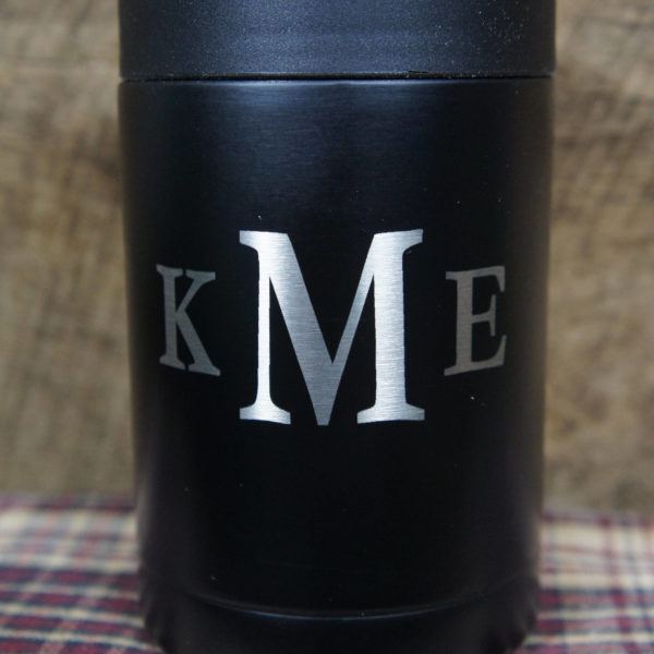 12 oz Can Cooler Laser Engraved Free