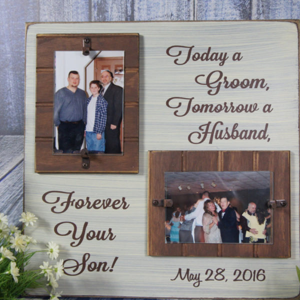 Today a Groom Tomorrow a Husband Forever Your Son Wedding Date Great ...